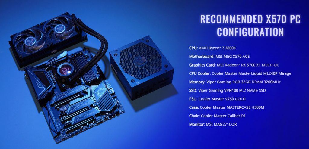 Cooler Master announces the Play Fast, Play Cool campaign in collaboration with MSI and AMD 16
