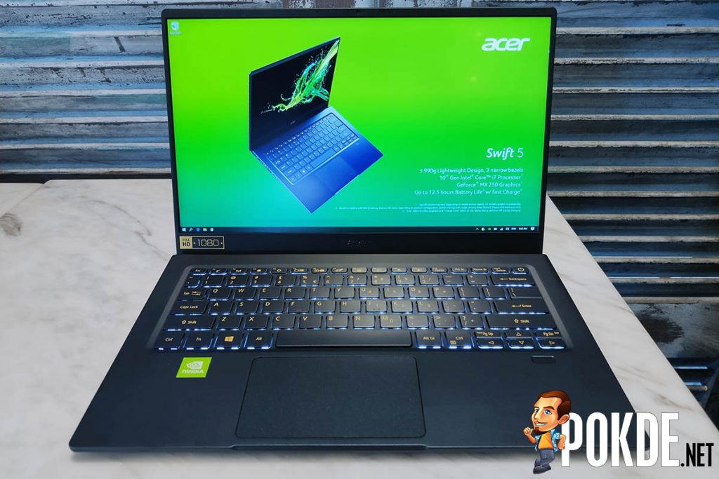 [IFA 2019] Acer somehow manages to cram a GeForce MX250 into the 990-gram Acer Swift 5 28