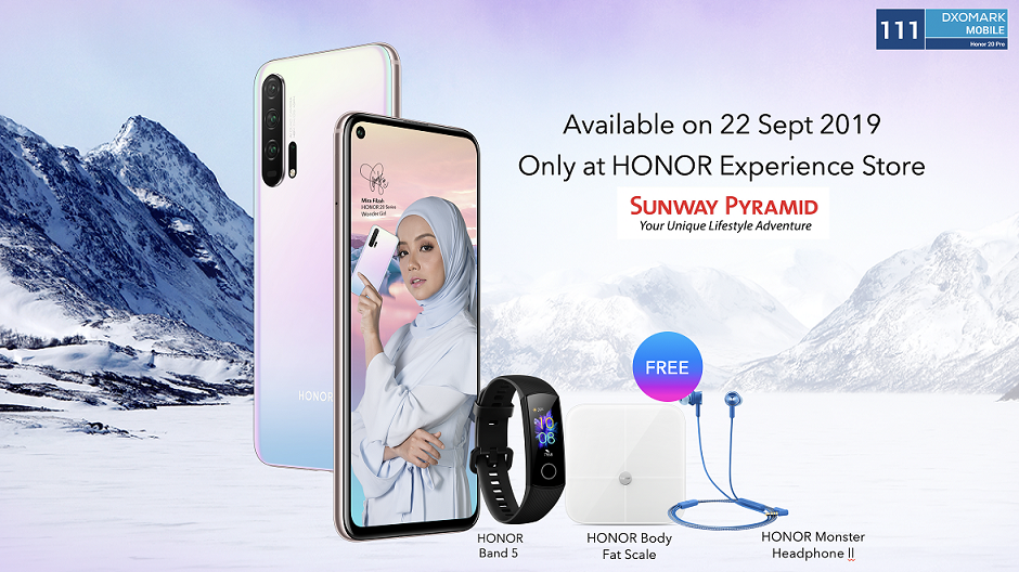 New HONOR 20 Pro Icelandic Frost Colour Variant Launched 26