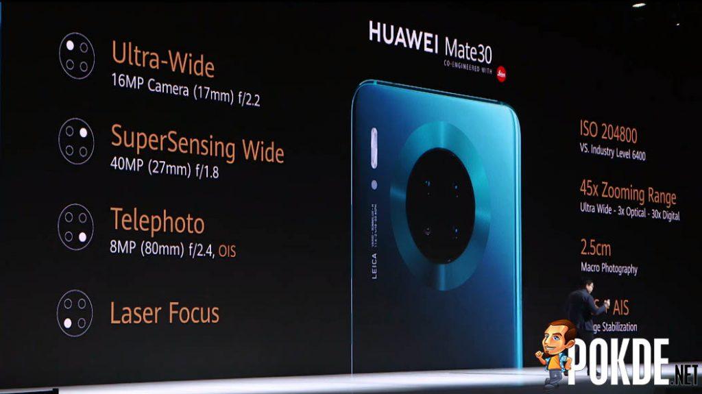 HUAWEI Mate 30 series launched — HUAWEI SuperSensing Cine Camera in tow 23