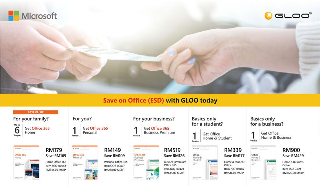 Save up to RM429 on your Microsoft Office ESD license before 30th September! 27