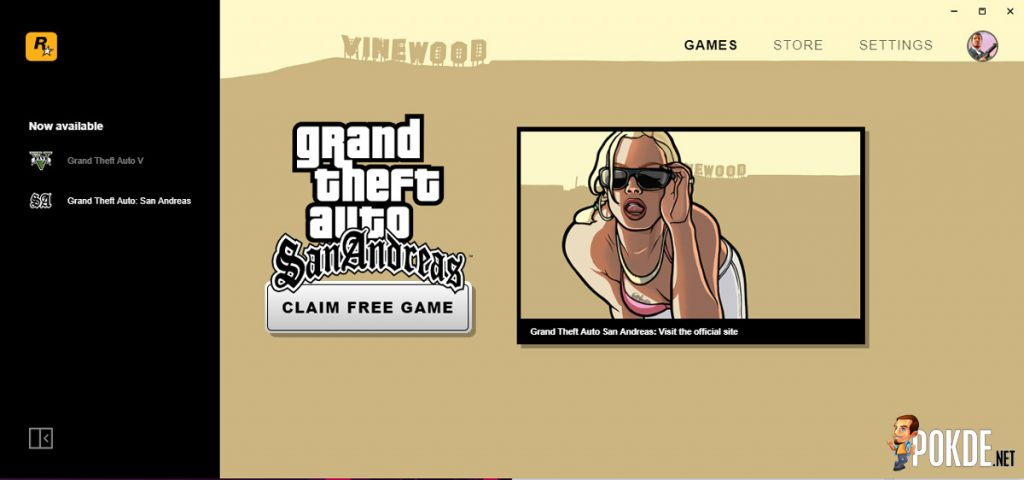 Rockstar Launches PC Games Store — Offers GTA San Andreas For Free In Celebration 27