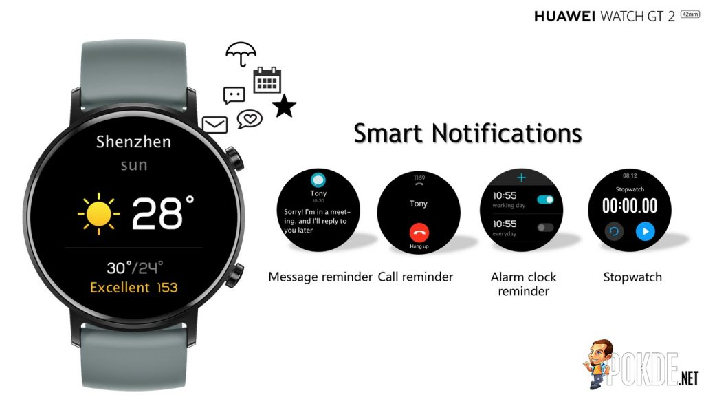 HUAWEI Watch GT 2 Officially Unveiled - Kirin A1 Chip and Improved Battery Life 23