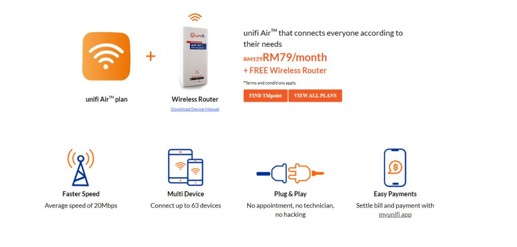 Unifi Air With Unlimited Quota For RM79 Per Month Now Open To All 21