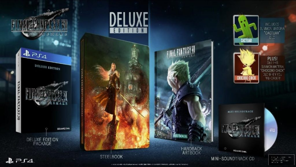 Final Fantasy VII Remastered Malaysia Retail Price Announced - Standard, Deluxe, and 1st Class Editions 19