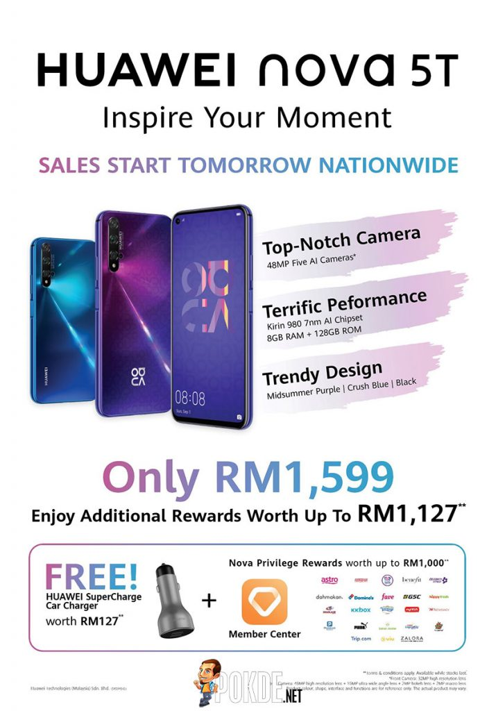 The HUAWEI nova 5T goes on sale tomorrow at RM1599 — is this the smartphone for you? 24