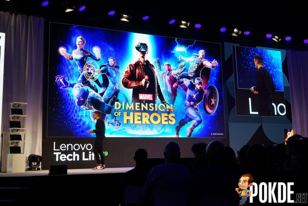 [IFA 2019] Lenovo Partners with Marvel for Marvel Dimension of Heroes AR Game