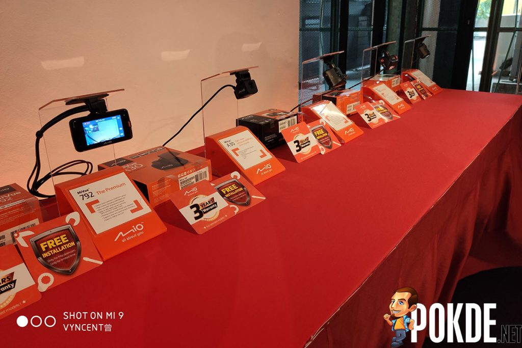 Mio debuts in Malaysia with four dashcams and one rear camera 24