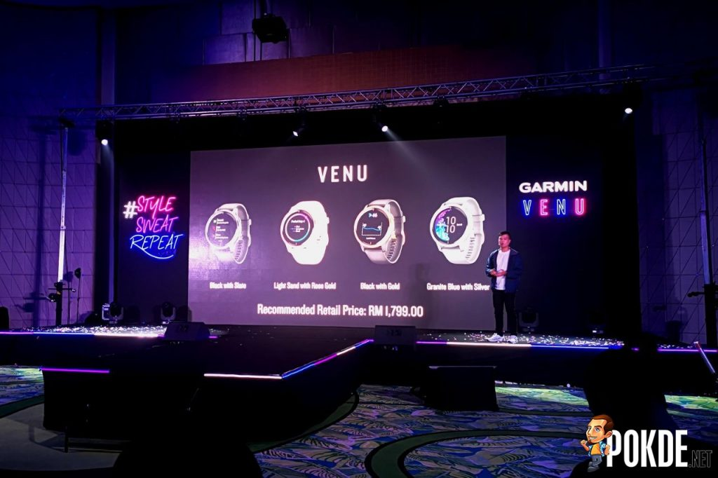Garmin Venu with Always-On AMOLED Display Launched in Malaysia - That Price Tho 25
