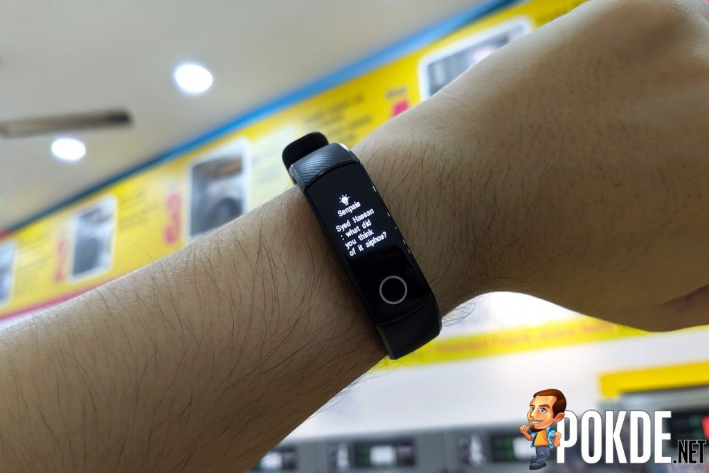 HONOR Band 5 review notification