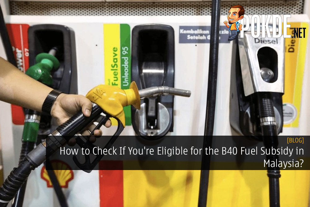 How to Check If You're Eligible for the B40 Fuel Subsidy in Malaysia? Here's An Easy Way To Check