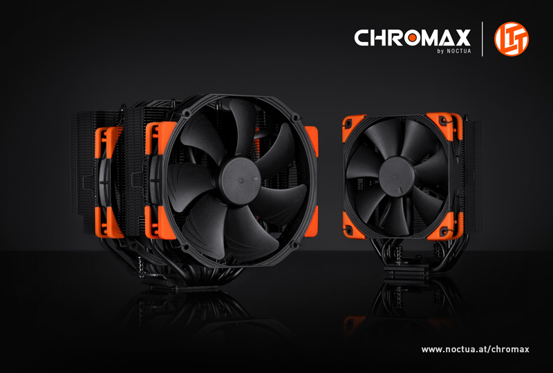 Noctua chromax.black CPU coolers finally released 26