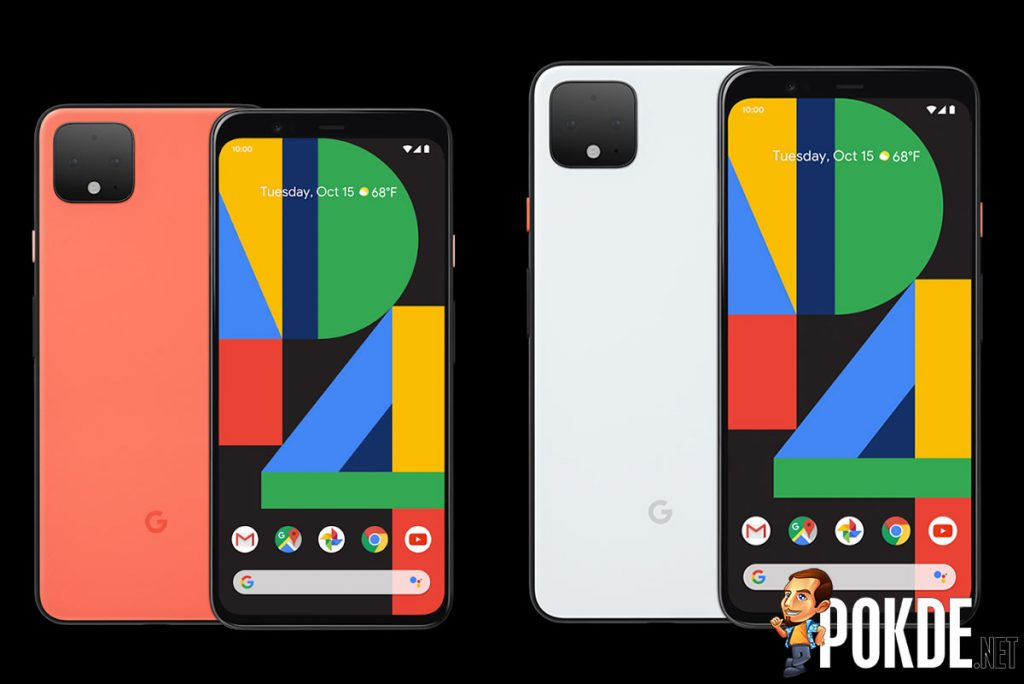 The Pixel 4 XL snaps in four places when bent 17