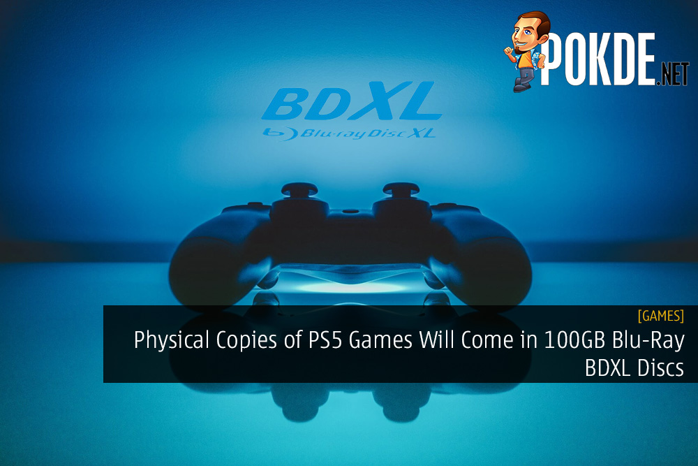 Physical Copies of PS5 Games Will Come in 100GB Blu-Ray BDXL Discs
