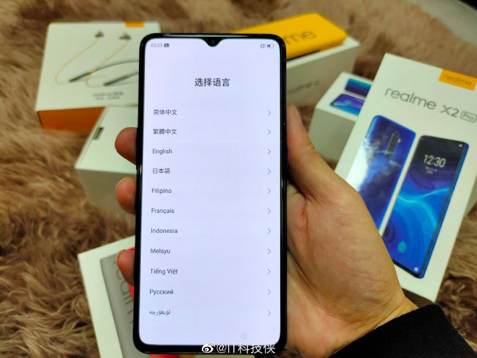 The realme X2 Pro appears in hands-on photos 29