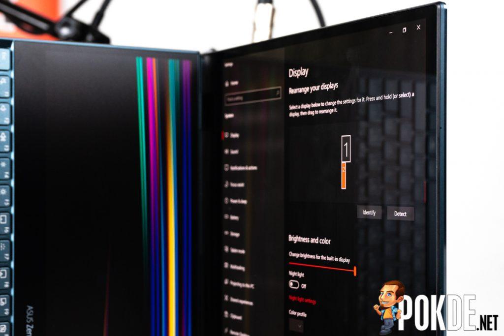 asus zenbook pro duo ux581 display quirk