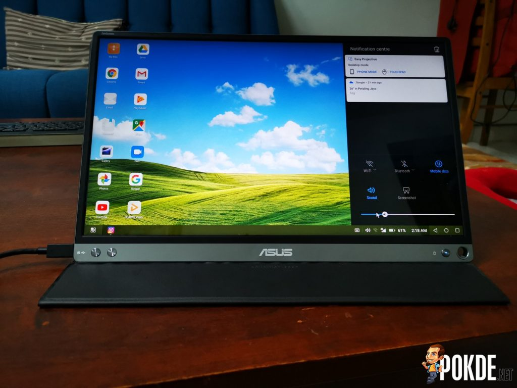 ASUS ZenScreen MB16AC Portable Monitor Review - It's Useful But... 35