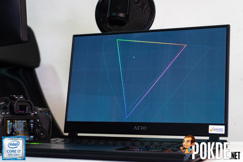 GIGABYTE AERO 15 OLED — the first OLED laptop in Malaysia! 20