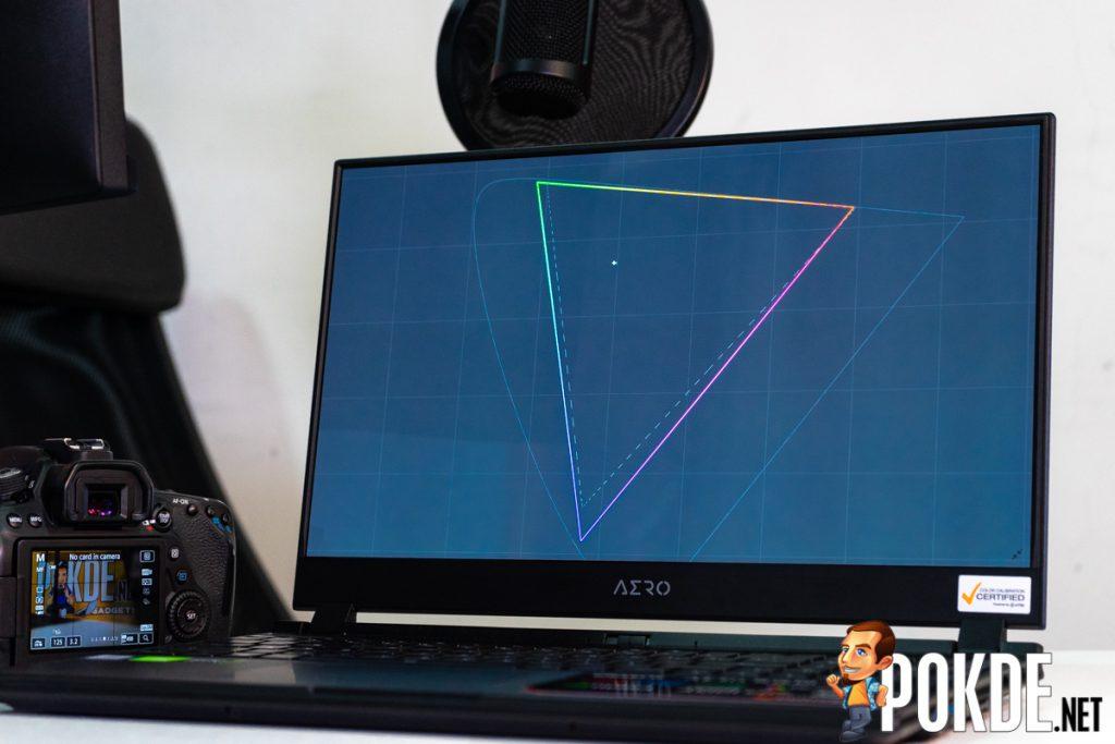 gigabyte aero 15 oled display