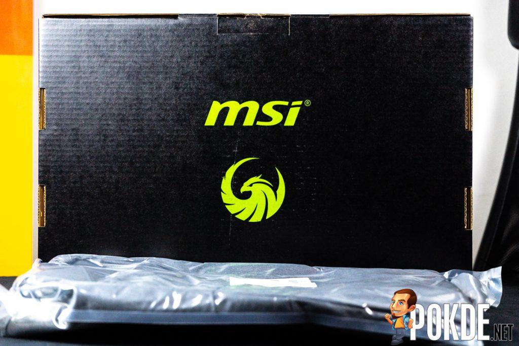 msi alpha 15 box