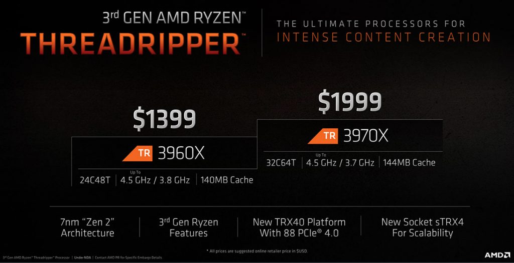 3rd Gen Ryzen Threadripper launched in Malaysia from RM5899 24
