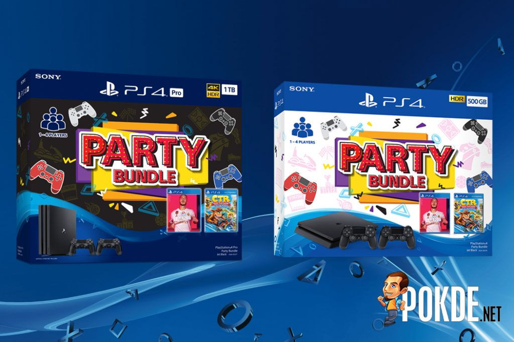 Three New PlayStation 4 Bundles Will Be Coming to Malaysia ps4 pro party bundle ps4 mega pack