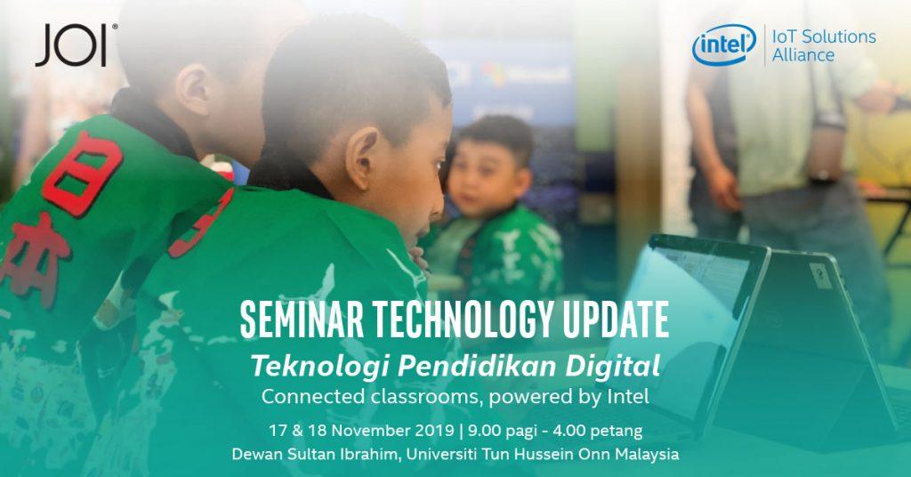 JOI® Smart Classroom solutions to be showcased at Universiti Tun Hussein Onn Malaysia's Seminar Technology Update 27