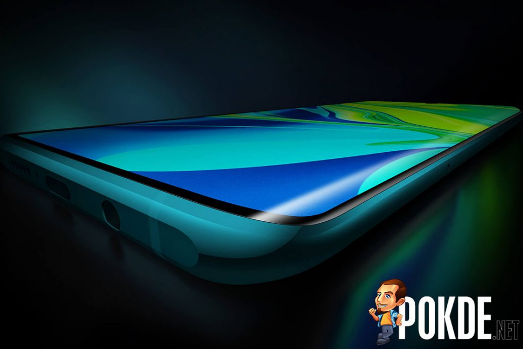 xiaomi cc9 pro curved screen