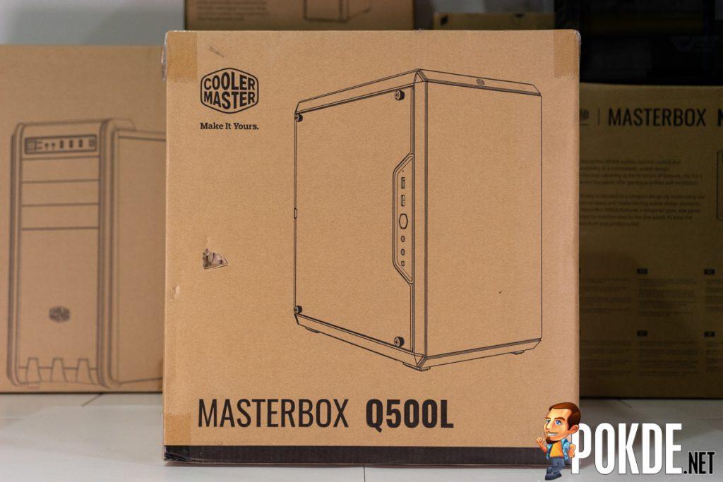 cooler master q500l box