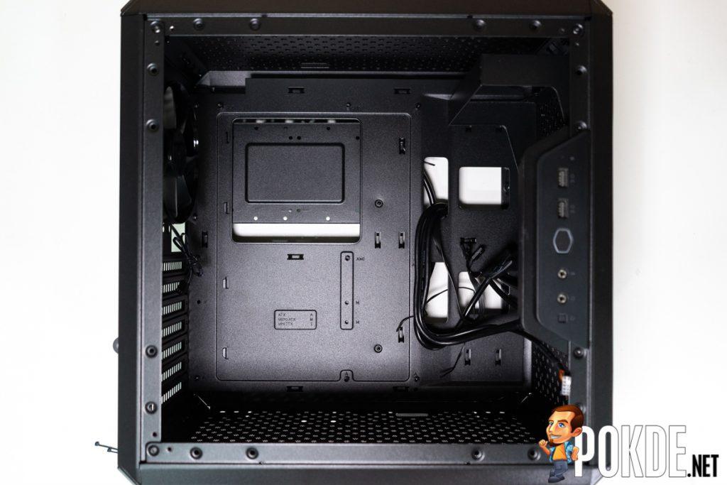 cooler master q500l inside