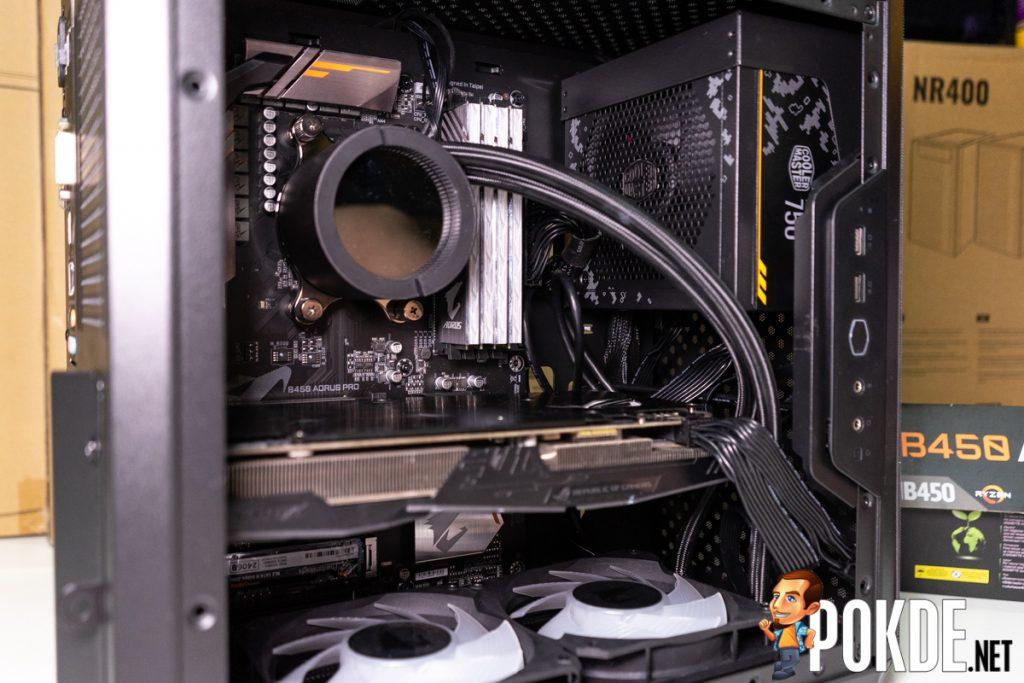 cooler master q500l build