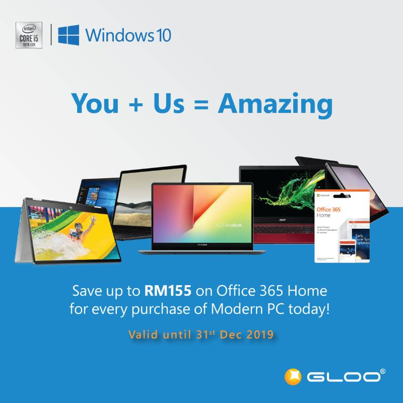 GLOO's amazing promotions are here to help you showcase the amazing you! 23