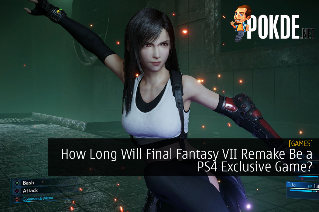 How Long Will Final Fantasy VII Remake Be a PS4 Exclusive Game?