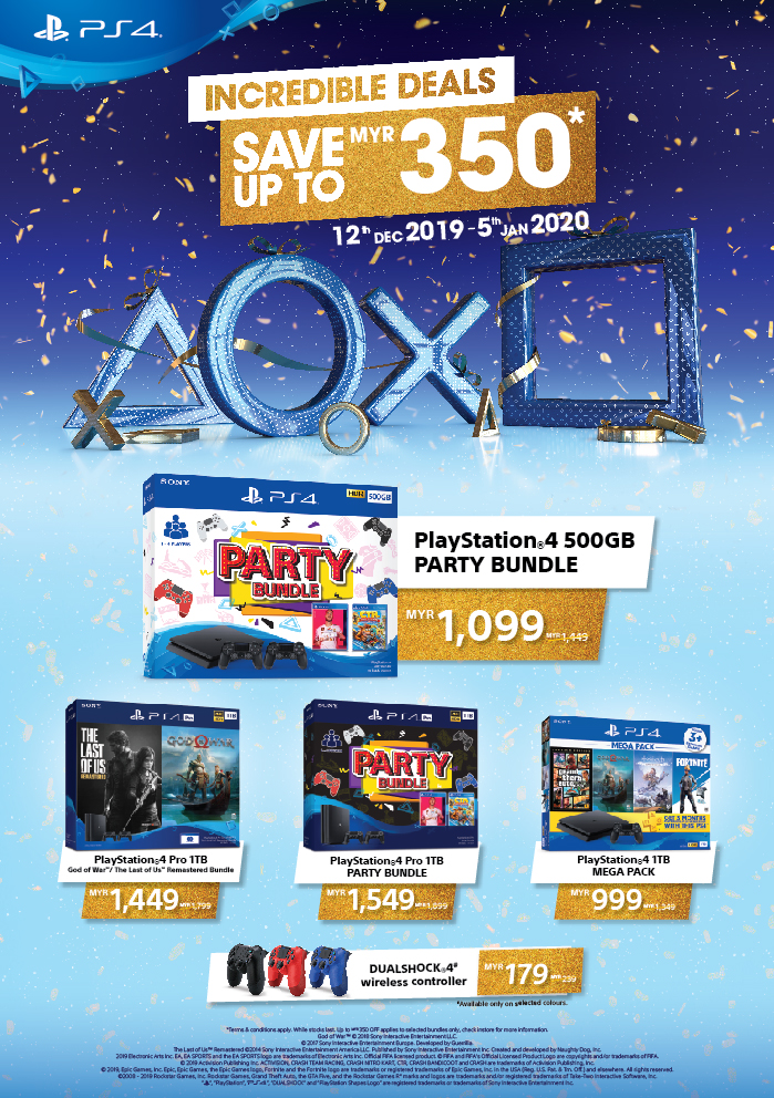 Get the PlayStation 4 and PS4 Pro at Lower Prices in Malaysia This December 2019 16