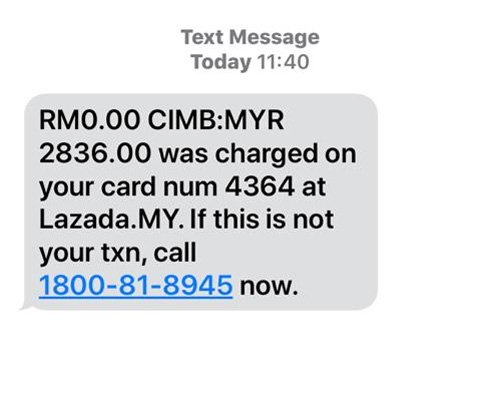 Beware Of This Latest SMS Scam 17