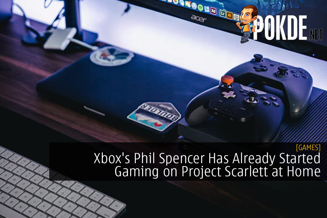 Xbox's Phil Spencer Has Already Started Gaming on Project Scarlett at Home