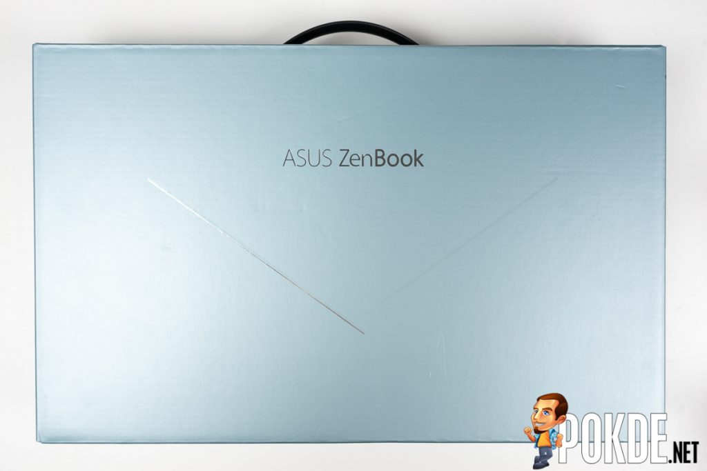 ASUS ZenBook 14 UM431D review box