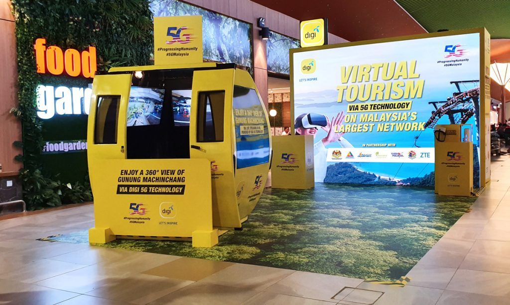 Digi Teams Up With Malaysia Airports And Panorama Langkawi In Launching 5G Real-time Virtual Tourism 25