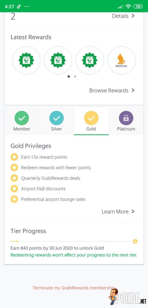 Grab Will No Longer Offer GrabRewards Points For Cash Payments Starting 15 March 2020 22