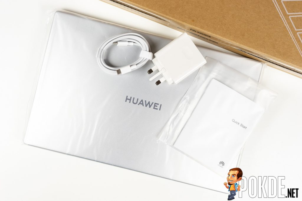 huawei matebook d15 package contents