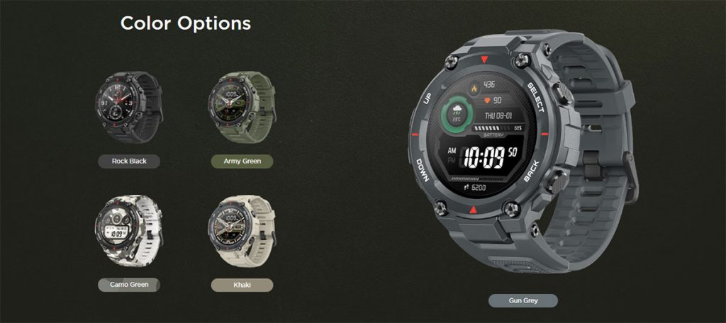 CES 2020: Amazfit T-Rex announced with military-grade toughness and 66-day battery life 25