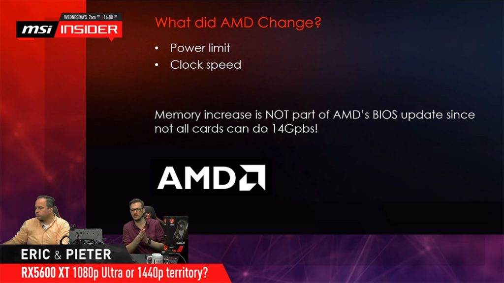"The AMD Radeon RX 5600 XT ""upgrade"" was really a surprise, even for AMD's partners 21"