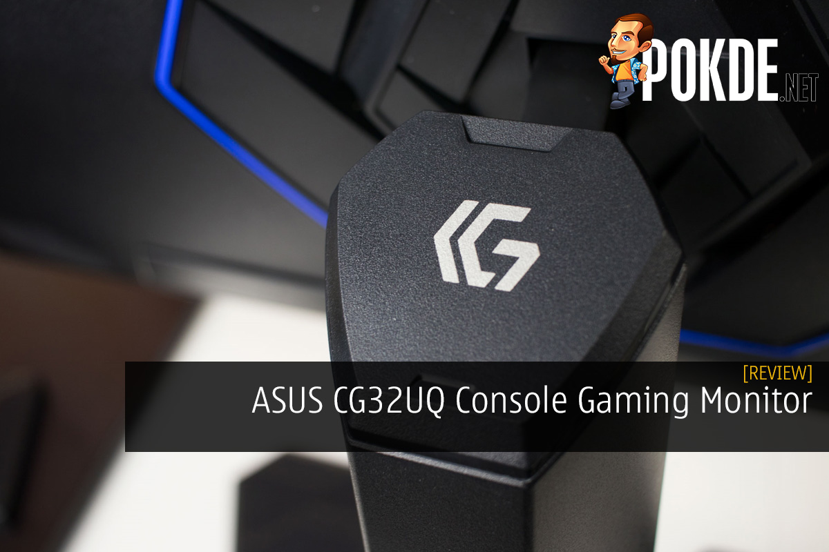 ASUS CG32UQ Console Gaming Monitor Review - It's Like a TV, But Better