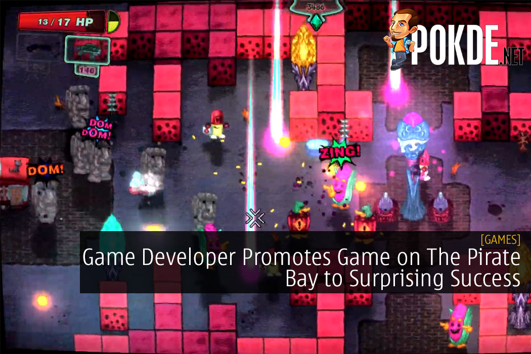 Game Developer Promotes Game on The Pirate Bay to Surprising Success