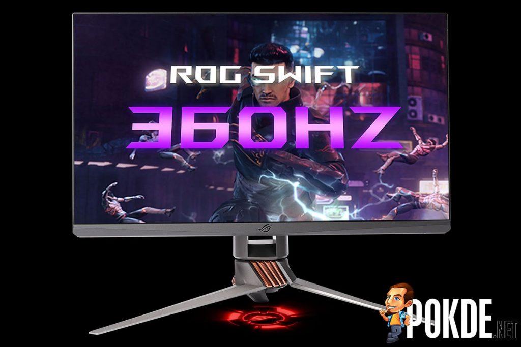 rog swift 360hz front