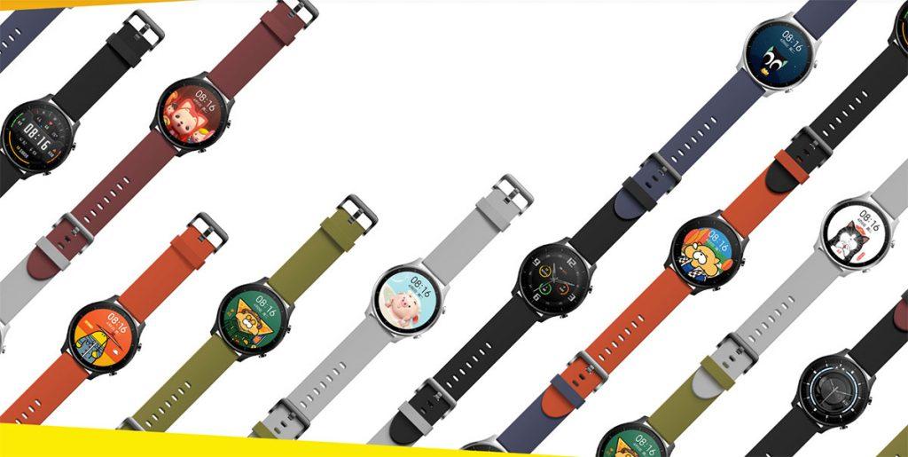Mi Watch Color watch faces