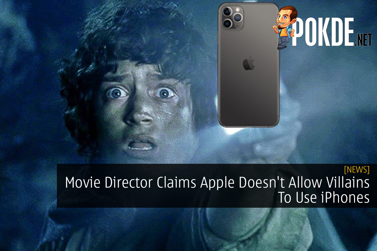 Movie Director Claims Apple Doesn't Allow Villains To Use iPhones 9
