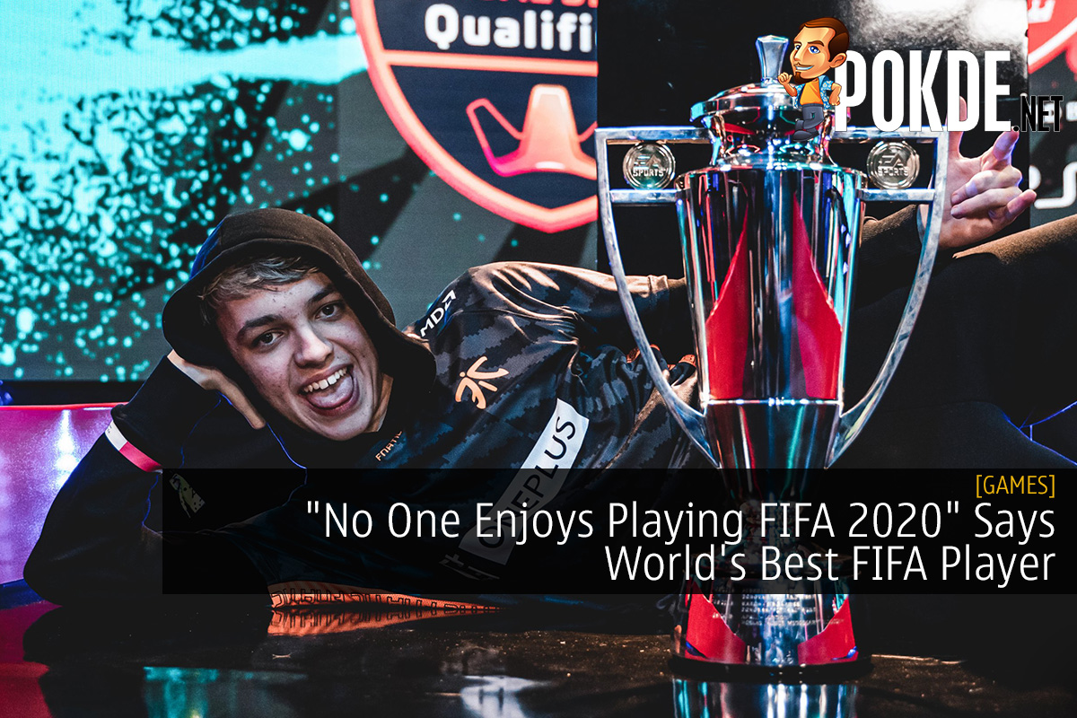 """No One Enjoys Playing FIFA 2020"" Says World's Best FIFA Player 20"