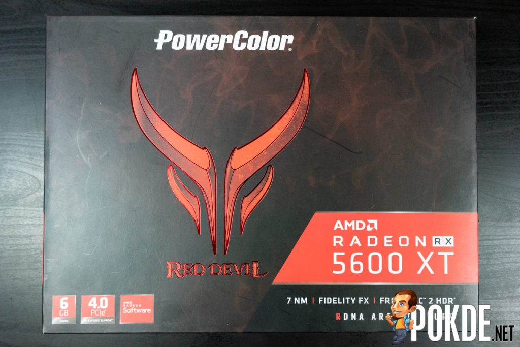 red devil radeon rx 5600 xt front