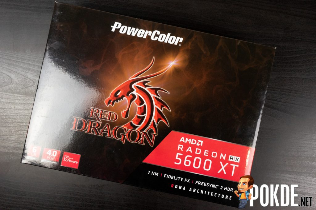 PowerColor Red Dragon Radeon RX 5600 XT box